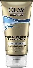 Parfüm, Parfüméria, kozmetikum Tisztító peeling gél - Olay Cleanse Detox & Luminosity Facial Cleansing Gel