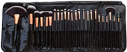 Parfüm, Parfüméria, kozmetikum Sminkecset szett, 24 db - Rio Professional Cosmetic Make Up Brush Set