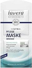 Parfüm, Parfüméria, kozmetikum Tápláló intenzív arcmaszk - Lavera Neutral Nourishing Intensive Mask