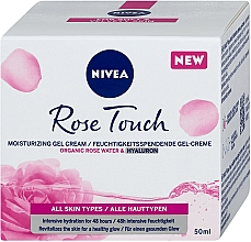 Parfüm, Parfüméria, kozmetikum Hidratáló gél-krém - Nivea Rose Touch