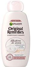 Parfüm, Parfüméria, kozmetikum Nyugtató gyengéd sampon érzékeny fejbőrre - Garnier Original Remedies Shampoo