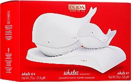 Parfüm, Parfüméria, kozmetikum Készlet - Pupa Whales Shade 001 Makeup Kit Limited Edition (palette/21.8g + palette/5.6g)
