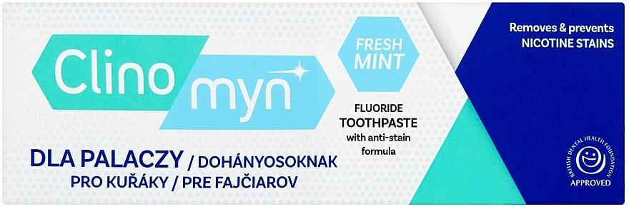Fogkrém dohányzók számára - Clinomyn Smokers Toothpaste Fresh Mint
