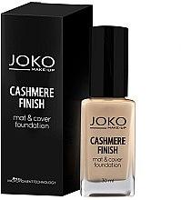 Parfüm, Parfüméria, kozmetikum Alapozó krém - Joko Cashmere Finish Mat & Cover Foundation