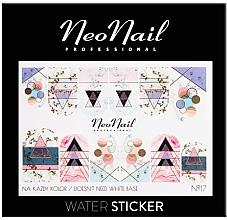 Parfüm, Parfüméria, kozmetikum Körömmatricák - NeoNail Professional Water Sticker