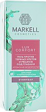 """Parfüm, Parfüméria, kozmetikum Duzzanat és sötét szem alatti karikák elleni gél """"Japán algák"""" - Markell Cosmetics Lux-Comfort"""