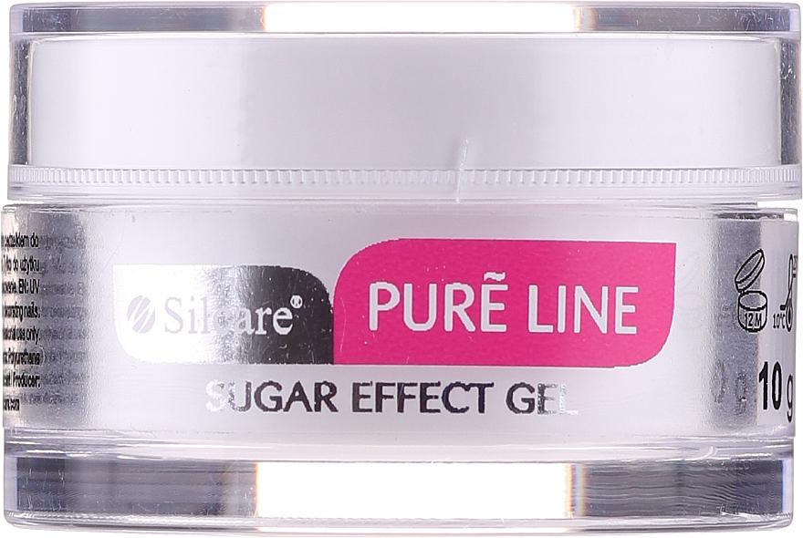 Műkörömépítő zselé - Silcare Pure Line Sugar Effect