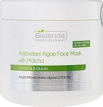 Parfüm, Parfüméria, kozmetikum Antioxidáns és tengeri alga arcmaszk - Bielenda Professional Face Program Antioxidant Algae Face Mask With Matcha