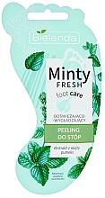 Parfüm, Parfüméria, kozmetikum Lábradír, frissító és simító - Bielenda Minty Fresh Foot Care Refreshing & Smoothing Foot Peeling