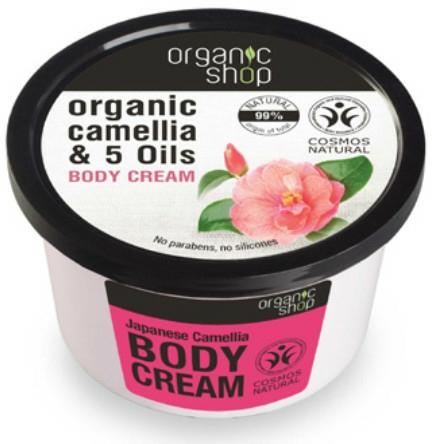 "Testkrém ""Japán kamélia"" - Organic Shop Body Cream Organic Camellia & Oils"