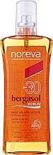 Parfüm, Parfüméria, kozmetikum Napolaj - Noreva Bergasol Sublim Satin Sun Oil Optimal Tanning SPF30