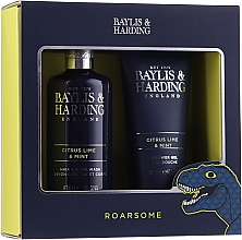 Parfüm, Parfüméria, kozmetikum Szett - Baylis & Harding Men's Citrus Lime & Mint 2 Piece Set(hair/body/wash/300ml+sh/gel/200ml)