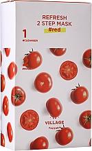 Parfüm, Parfüméria, kozmetikum Kétfázisú paradicsom maszk - Village 11 Factory Refresh 2-Step Mask Red