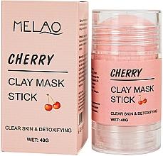 """Parfüm, Parfüméria, kozmetikum Maszk stift arcra """"Cherry""""  - Melao Cherry Clay Mask Stick"""
