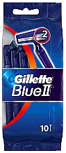 Parfüm, Parfüméria, kozmetikum Eldobható borotva készlet, 10 db - Gillette Blue II Disposable Men's 2-Blade Travel Razors with Razor Blades