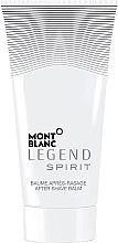 Parfüm, Parfüméria, kozmetikum Montblanc Legend Spirit - Borotválkozás utáni balzsam