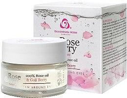 Parfüm, Parfüméria, kozmetikum Szemkörnyékápoló krém - Bulgarian Rose Rose Berry Nature Cream Around Eyes