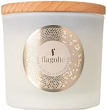 """Parfüm, Parfüméria, kozmetikum Illatosítotgyertya pohárban """"Narancs és fahéj"""" - Flagolie Fragranced Candle Orange & Cinnamon"""