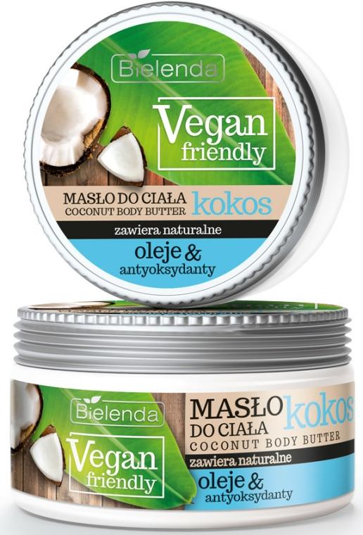 """Kókusz"" testápoló olaj - Bielenda Vegan Friendly Coconut Body Butter"