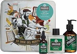 Parfüm, Parfüméria, kozmetikum Szakálápoló szett - Proraso Refreshing Gift Set (beard wash/200ml + beard balm/100ml + beard oil/30ml)