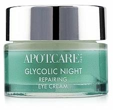 Parfüm, Parfüméria, kozmetikum Helyreállító éjszakai krém szemhéjra - APOT.CARE Glycolic Night Eye Cream