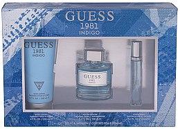 Parfüm, Parfüméria, kozmetikum Guess 1981 Indigo for Women - Szett (edt/100ml + b/lot/200 + edt/15ml)