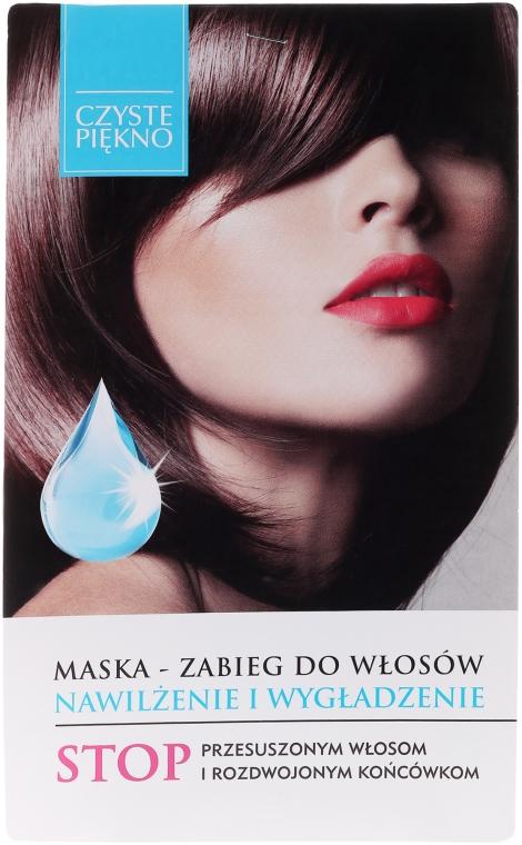 Hidratáló és selymesítő hajmaszk - Czyste Piękno
