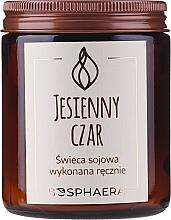 """Parfüm, Parfüméria, kozmetikum Illatosított szójagyertya """"Őszi illatvarázs"""" - Bosphaera Autumn Charm Candle"""