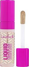 Parfüm, Parfüméria, kozmetikum Korrektor - Lovely Liquid Camouflage