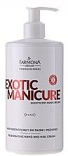 Parfüm, Parfüméria, kozmetikum Regeneráló kéz- és körömápoló krém - Farmona Exotic Manicure SPA