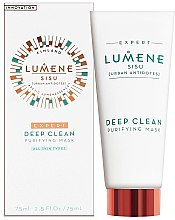 Parfüm, Parfüméria, kozmetikum Mélytisztító arcmaszk - Lumene Sisu Expert Deep Clean Purifying Mask