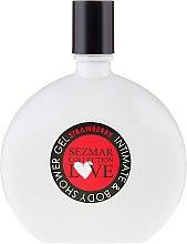 "Parfüm, Parfüméria, kozmetikum Tusfürdő és intim gél ""Eper"" - Sezmar Collection Love Strawberry Intimate & Body Shower Gel"