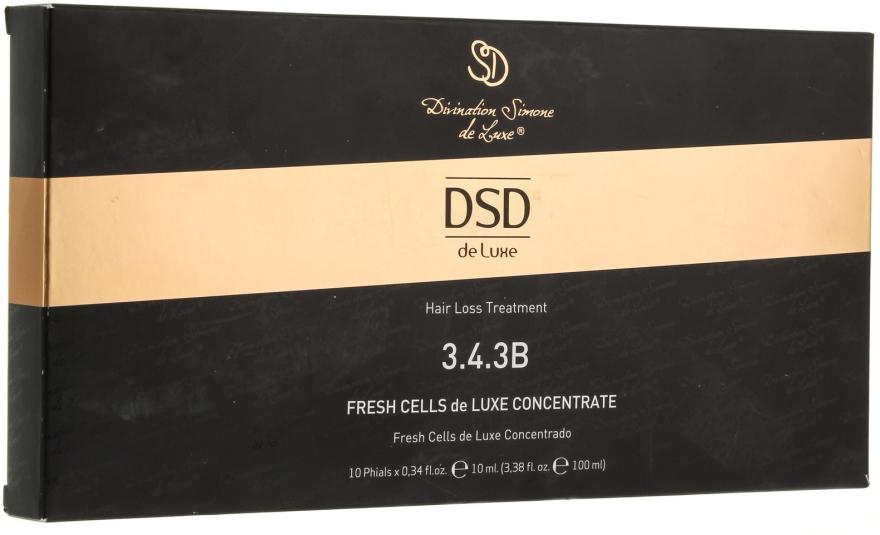 Koncentrátum Fresh Cells De Luxe № 3.4.3 - Divination Simone De Luxe Fresh Cells De Luxewondercell Concentrate — fotó N1