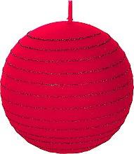 "Parfüm, Parfüméria, kozmetikum Dekoratív gyertya ""Piros gömb"", 10 cm - Artman Andalo"