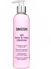 Parfüm, Parfüméria, kozmetikum Arclemosó tej selyemmel - BingoSpa Silk Face&Neck Cleanser