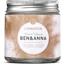 Parfüm, Parfüméria, kozmetikum Fogpor fahéjjal - Ben & Anna Toothpowder Cinnamon