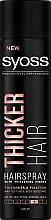 Parfüm, Parfüméria, kozmetikum Hajlakk, extra erős fixálás - Syoss Thicker Hair