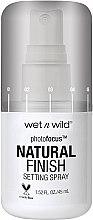 Parfüm, Parfüméria, kozmetikum Sminkfixáló spray - Wet N Wild Photofocus Natural Finish Setting Spray