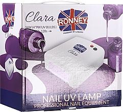 Parfüm, Parfüméria, kozmetikum UV-lámpa, piros - Ronney Professional Nail UV Lamp Clara 36W (GY-UV-818)