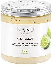 "Parfüm, Parfüméria, kozmetikum Lábpeeling ""Lime"" - Kanu Nature Lime Body Scrub"