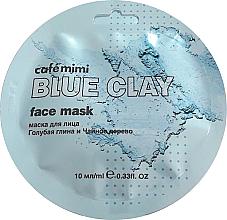"""Parfüm, Parfüméria, kozmetikum Arcmaszk """"Kék agyag és teafa"""" - Cafe Mimi Blue Clay Face Mask"""
