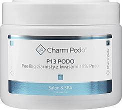 Parfüm, Parfüméria, kozmetikum Granulátum peeling 18% saval talp bőrére - Charmine Rose Charm Podo P13