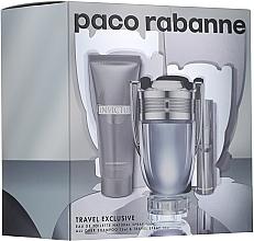 Parfüm, Parfüméria, kozmetikum Paco Rabanne Invictus - Szett (edt/100ml + edt/10ml + sh/gel/75ml)