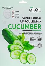 Parfüm, Parfüméria, kozmetikum Szövetmaszk uborka kivonattal - Ekel Super Natural Ampoule Mask Cucumber