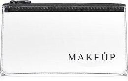 "Parfüm, Parfüméria, kozmetikum Neszeszer, átlátszó ""Flat Glow"" 20x10cm - MakeUp"