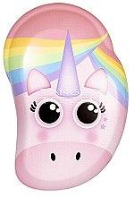 Parfüm, Parfüméria, kozmetikum Gyermek fésű - Tangle Teezer The Original Mini Children Detangling Hairbrush Rainbow The Unicorn