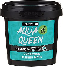 """Parfüm, Parfüméria, kozmetikum Hidratáló lehúzható arcmaszk """"Algák"""" - Beauty Jar Face Care Aqua Queen Rubber Mask"""