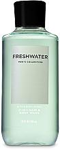 Parfüm, Parfüméria, kozmetikum Gél tusoláshoz, fürdéshez és hajra 2 az 1 - Bath and Body Works Men`s Collection Freshwater 2 In 1 Hair & Body Wash