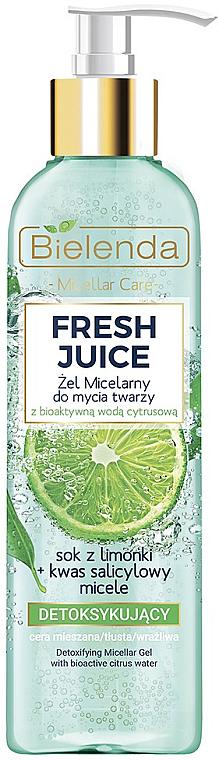 Micellás gél - Bielenda Fresh Juice Detox Lime