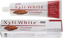 """Parfüm, Parfüméria, kozmetikum Fogkrém """"Fahéj"""" - Now Foods XyliWhite Toothpaste Gel"""